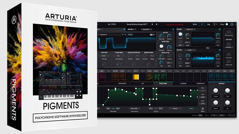 Arturia Pigments v2.0.0 Crack (Win + Mac) Full Version