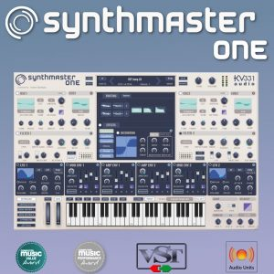 KV331 Synthmaster One 2.9.8 + Crack [Win & Mac OSX] Free Download