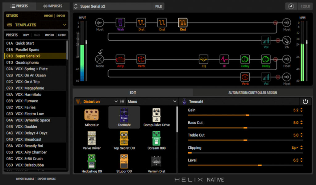 Line 6 Helix Native Guitar Amp (Win) Full Version Free