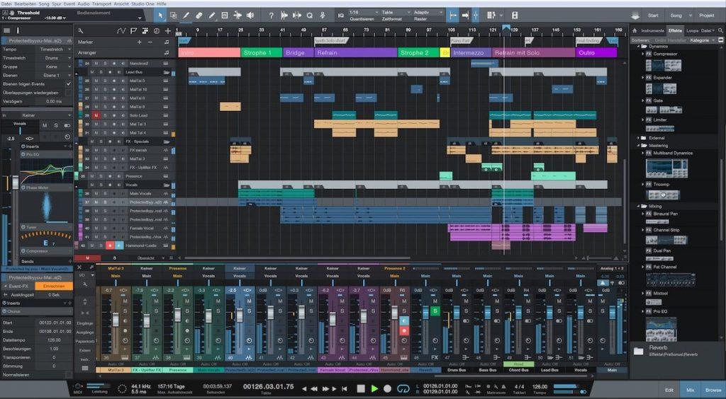 PreSonus Studio One Pro 5.0.2 With Crack Download [Latest]