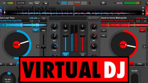 Virtual DJ Pro 8 Crack + Keygen 2021 [Latest] Torrent Free Download