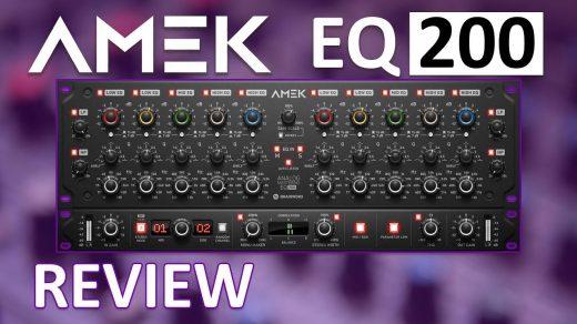 AMEK EQ 200 Crack v2.0.0 Mac & Windows + VST Free