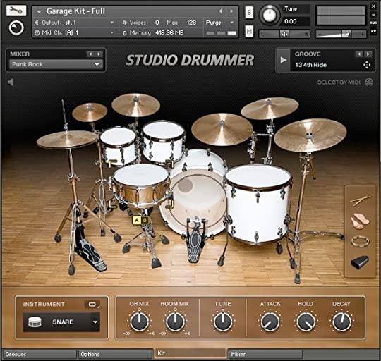 Native Instruments Studio Drummer (Kontakt) Crack Mac + Keygen Full