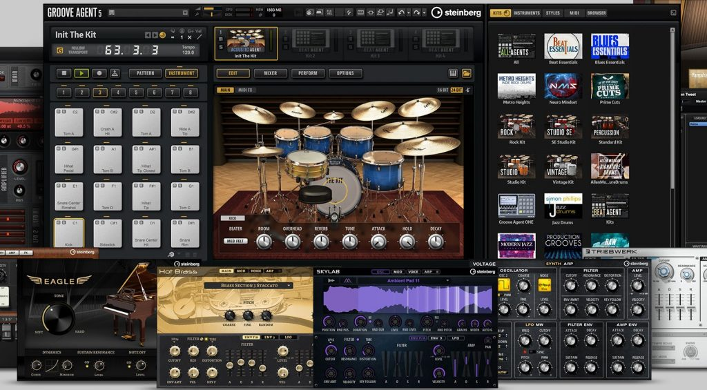 Steinberg Absolute 4 VST Crack Instrument Collection (X64)