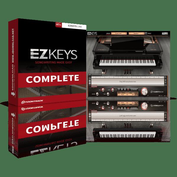 Toontrack EZkeys Complete 1.3.0 Crack Mac & Windows Full Version Free Download