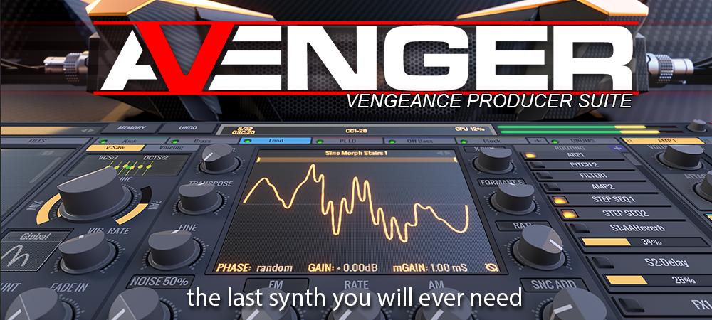 Vengeance Producer Suite - Avenger v1.4.10 VST Crack (Mac) Full