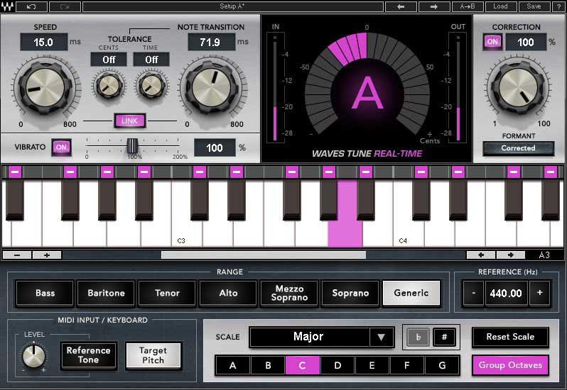 Waves Tune Real Time Crack with Torrent (Mac) Download