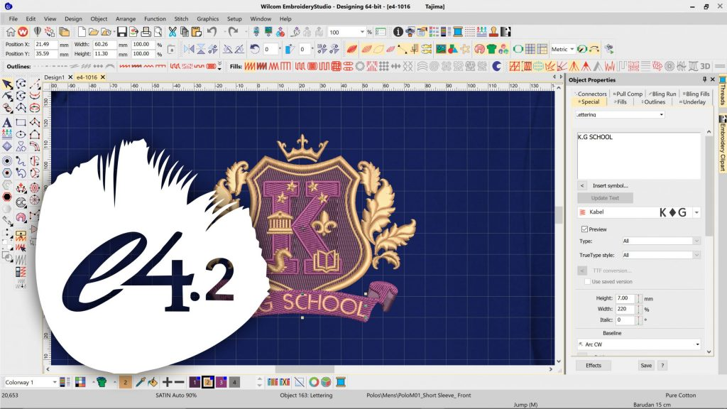 Wilcom Embroidery Studio E2 With Crack Free Download Full Version