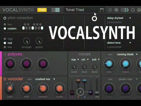 iZotope VocalSynth 2.1.0 Crack Mac + Windows Full Torrent