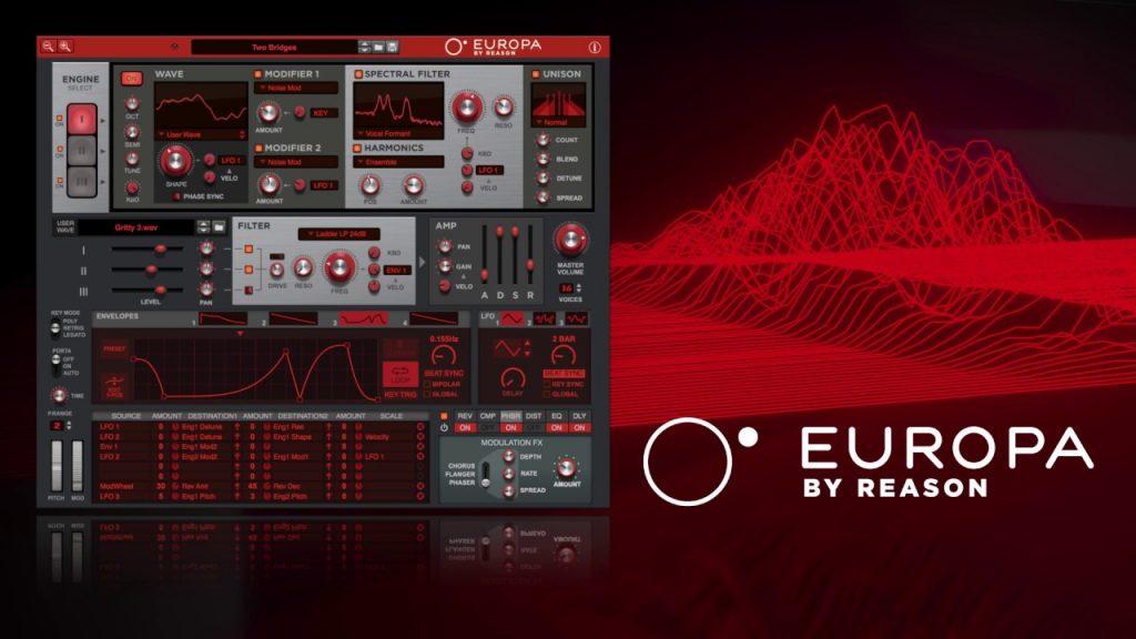 Europa By Reason v2.0.0 Vst Crack (Win) 2021 Full Version