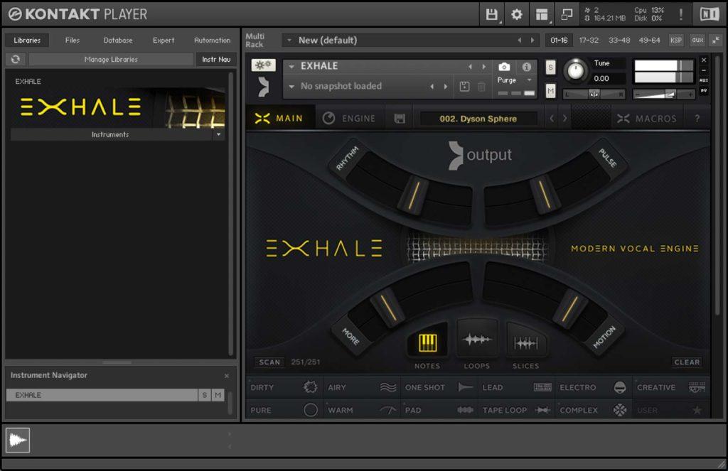 Exhale Vocal Engine VST KONTAKT Library Crack (Win) Plugin Download