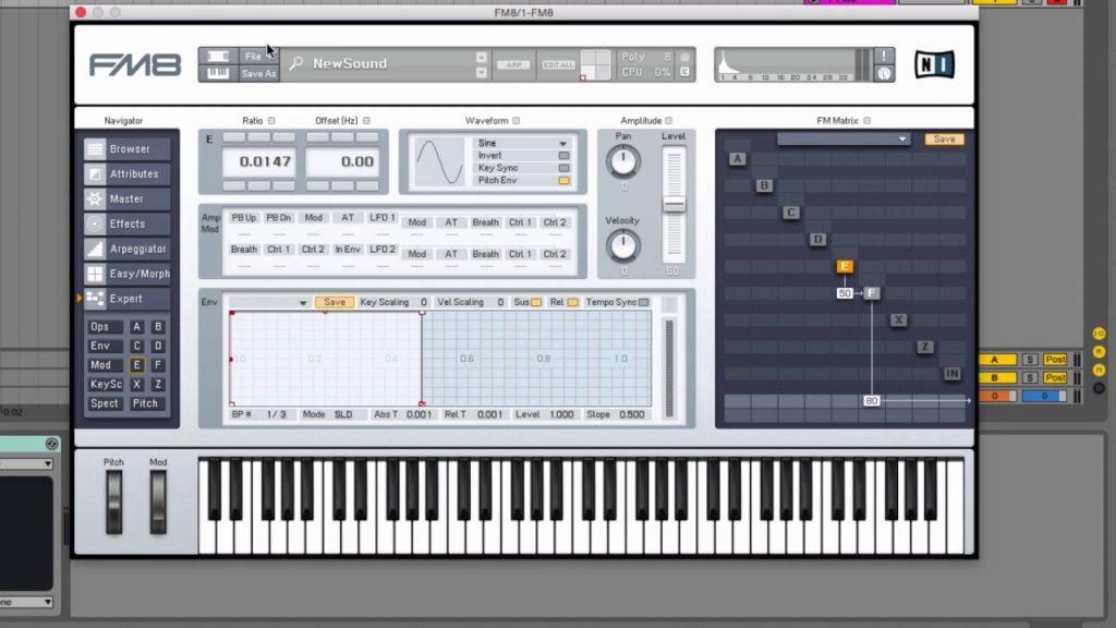 Native Instruments FM8 Crack plus Serial key Free for (Windows)