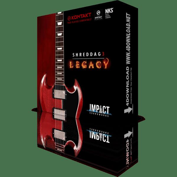 Shreddage 3 Legacy KONTAKT VST Crack Free Download