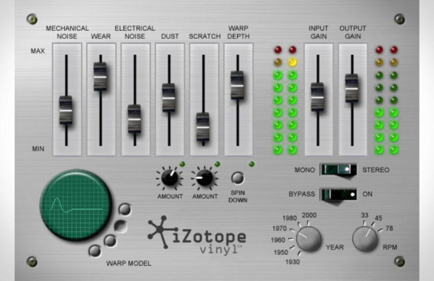 iZotope Vinyl v1.80 Crack (Win & Mac) Download