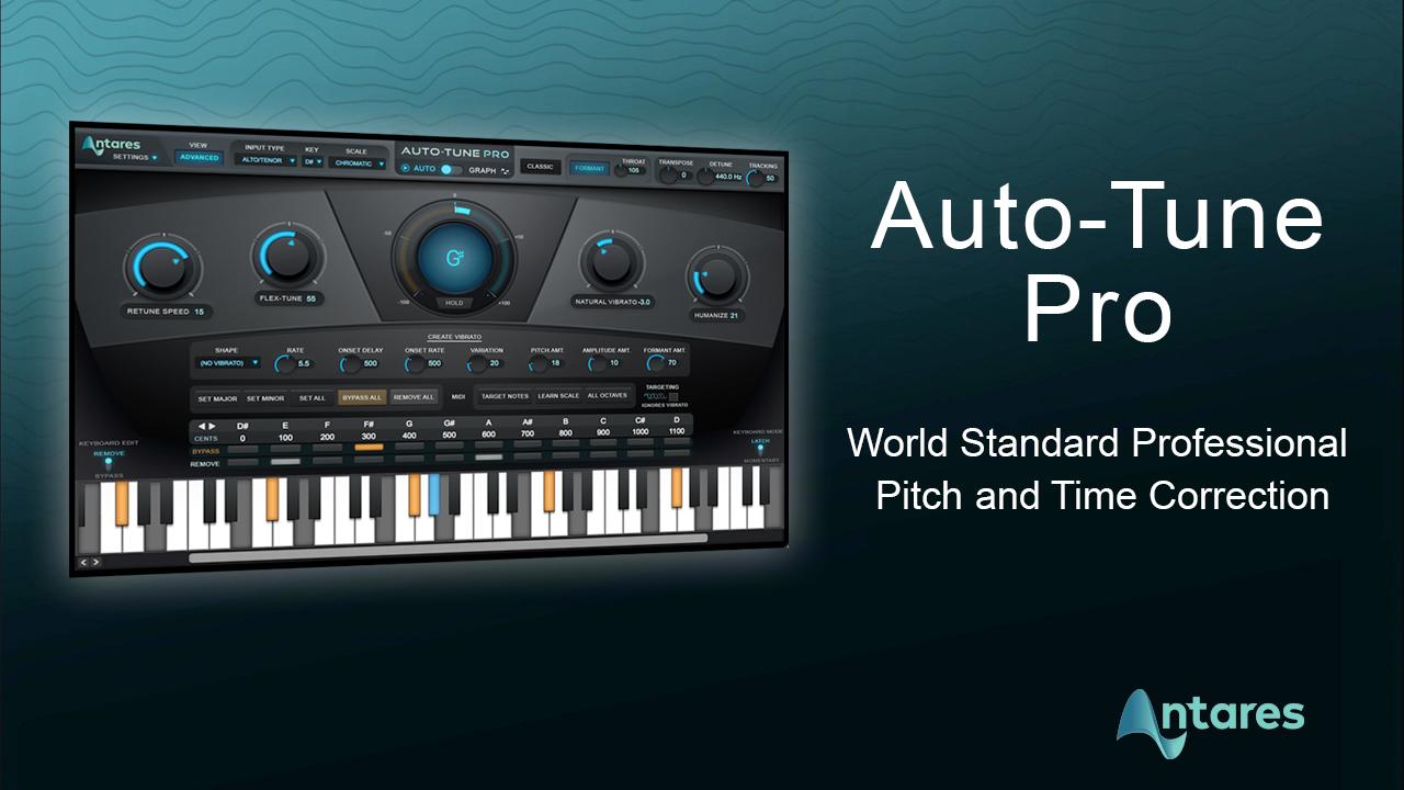 Auto-Tune Vocal Studio 9.1.1 Crack VST Full Version 2021 Free