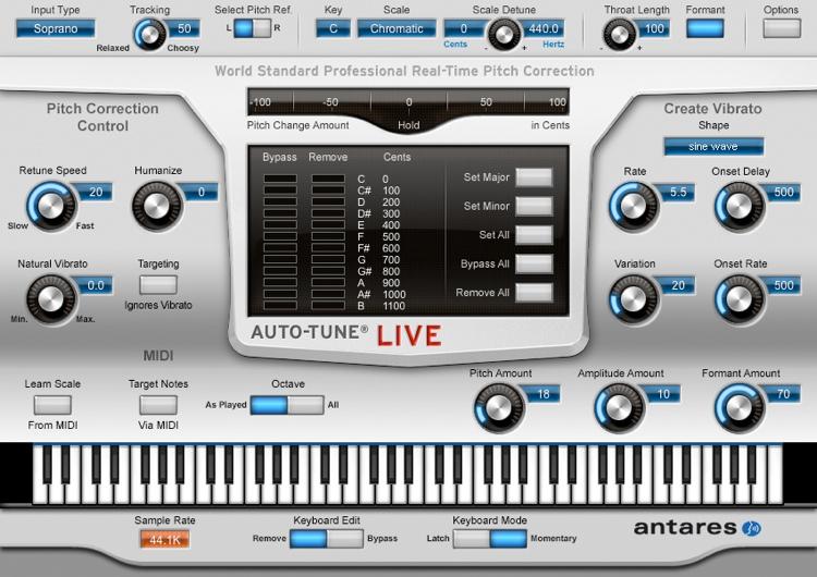 Auto-Tune Vocal Studio 9.1.1 Crack VST Full Version 2021