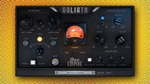 Tone Empire Goliath V2 Build 1.1.2 Crack For Mac OS [Latest]