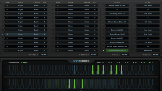 Free Download is a MIDI processing plugin that helps you play chords and chord progressions faster and easier.