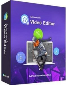 Apowersoft Video Editor 1.7.6.7 Crack Plus Activation Key [Latest] 2021